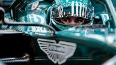Aston Martin: Lance Stroll corre con Aston Martin