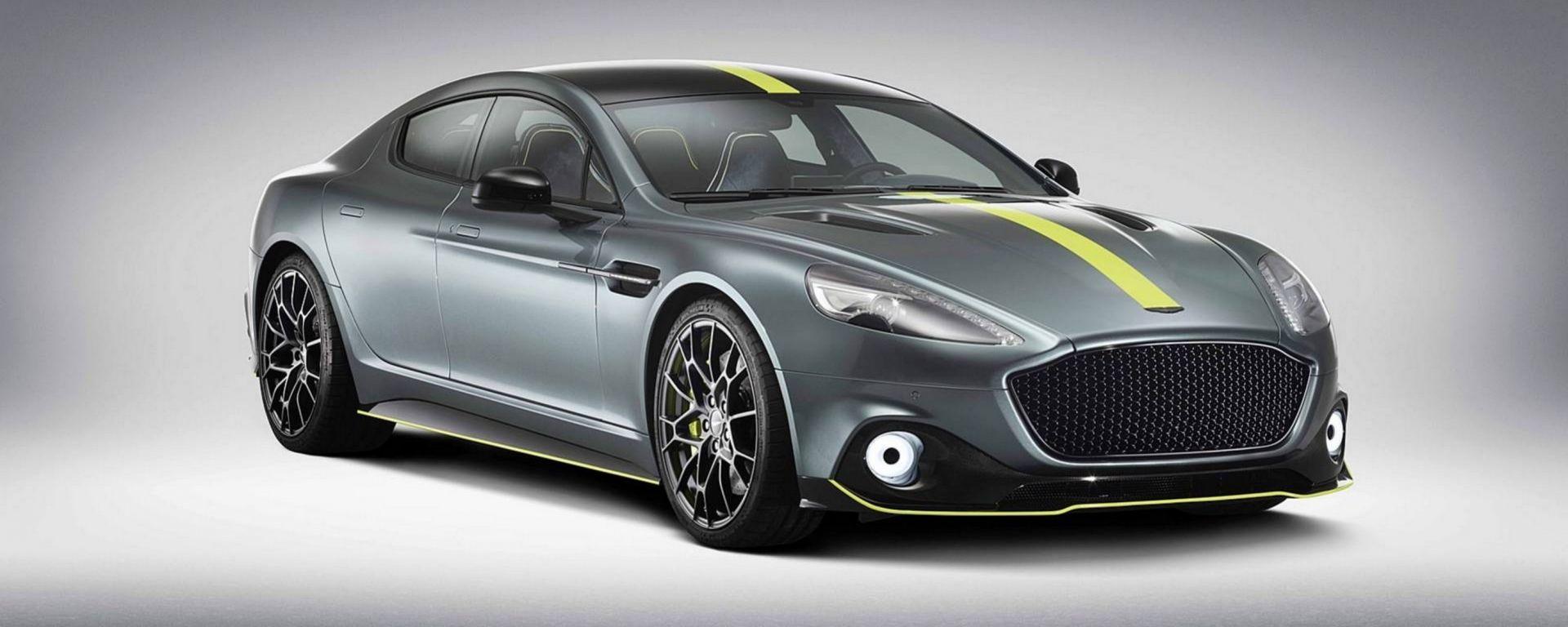 Aston Martin Rapide AMR: ammiraglia da 600 CV