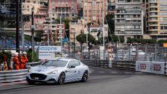 Aston Martin Rapide E: debutto sul tracciato di Monaco