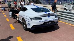 Aston Martin Rapide E: vista 3/4 posteriore