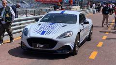 Aston Martin Rapide E: vista anteriore