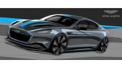 Aston Martin RapidE: l'elettrica arriva nel 2019 - Immagine: 1