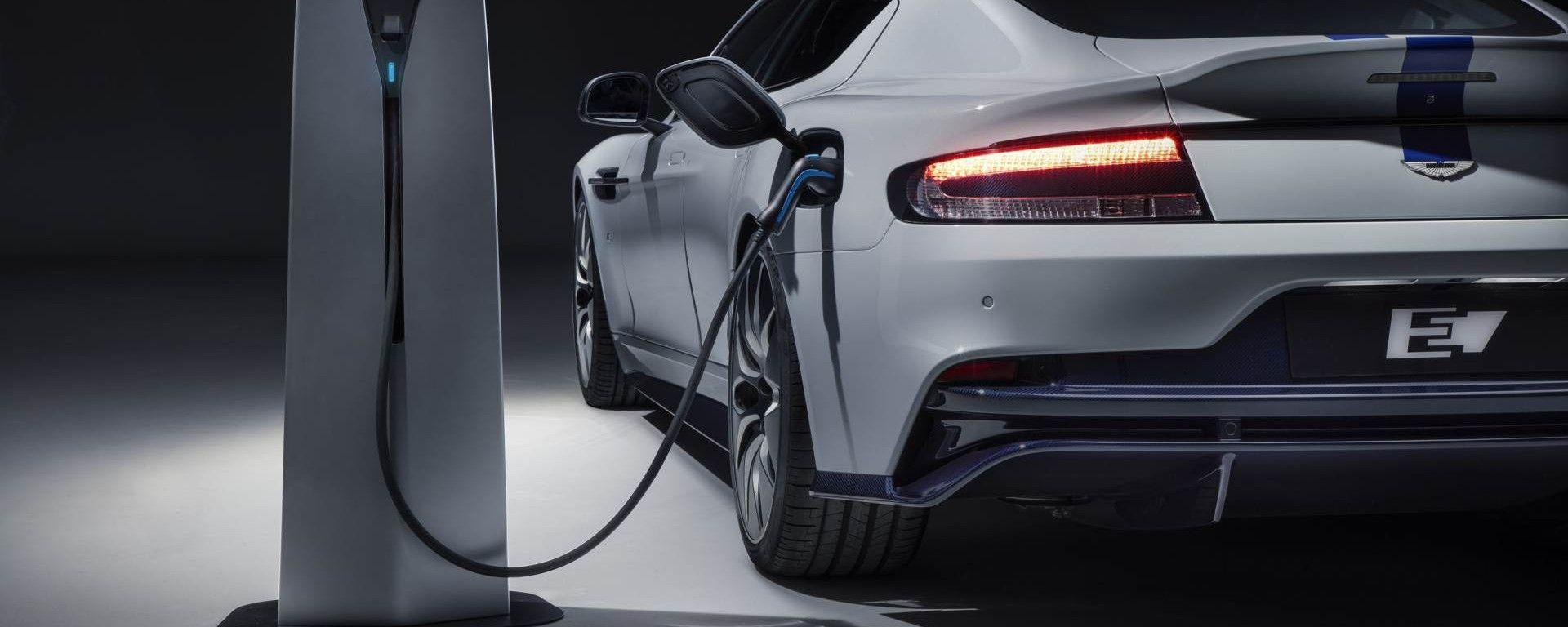 Aston Martin, riprendono i progetti del primo modello full electric