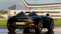 Aston Martin V12 Speedster: 3/4 posteriore