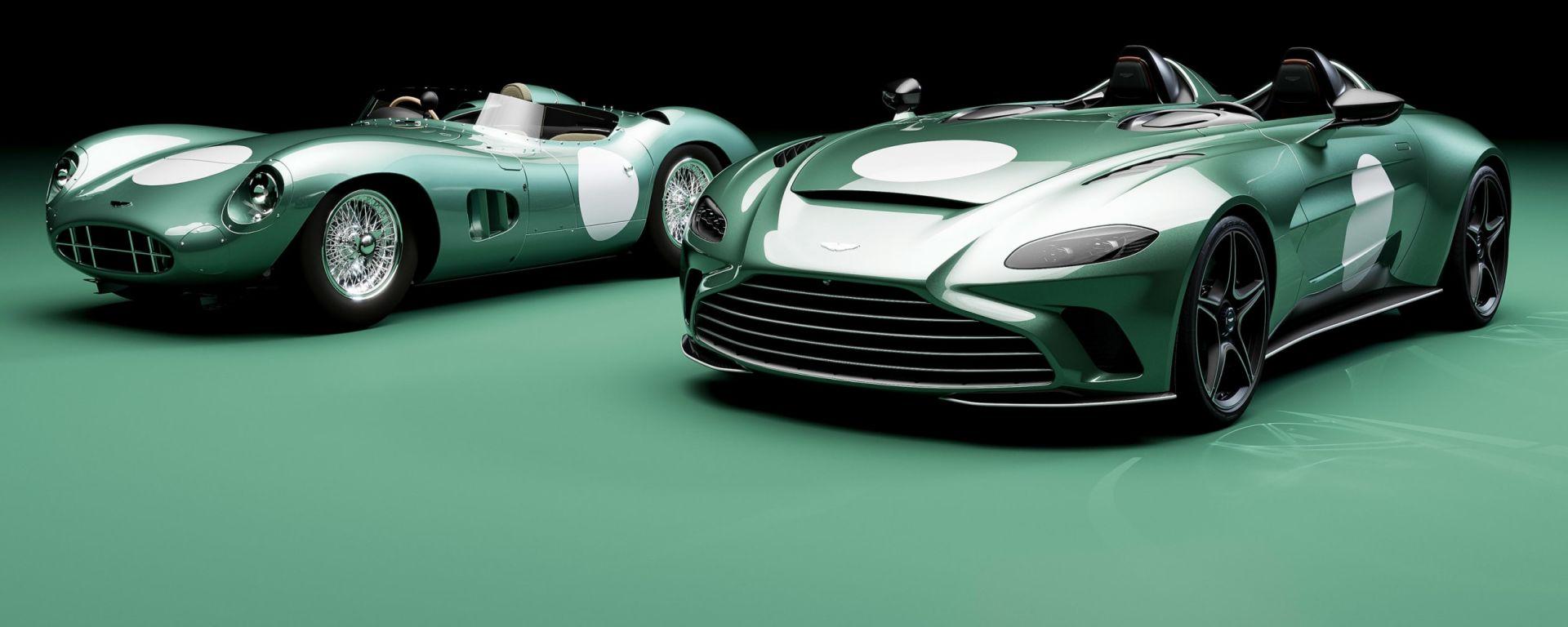 Aston Martin V12 Speedster DBR1: omaggio al passato vincente