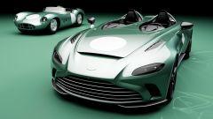 Aston Martin V12 Speedster DBR1: passato e presente sulla medesima passerella