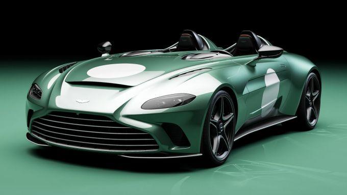 Aston Martin V12 Speedster DBR1:motore v12 da 690 CV di potenza