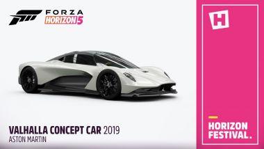 Aston Martin Valhalla nei videogame: il debutto in Forza Horizon 5