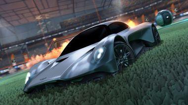 Aston Martin Valhalla nei videogame: il debutto su Rocket League