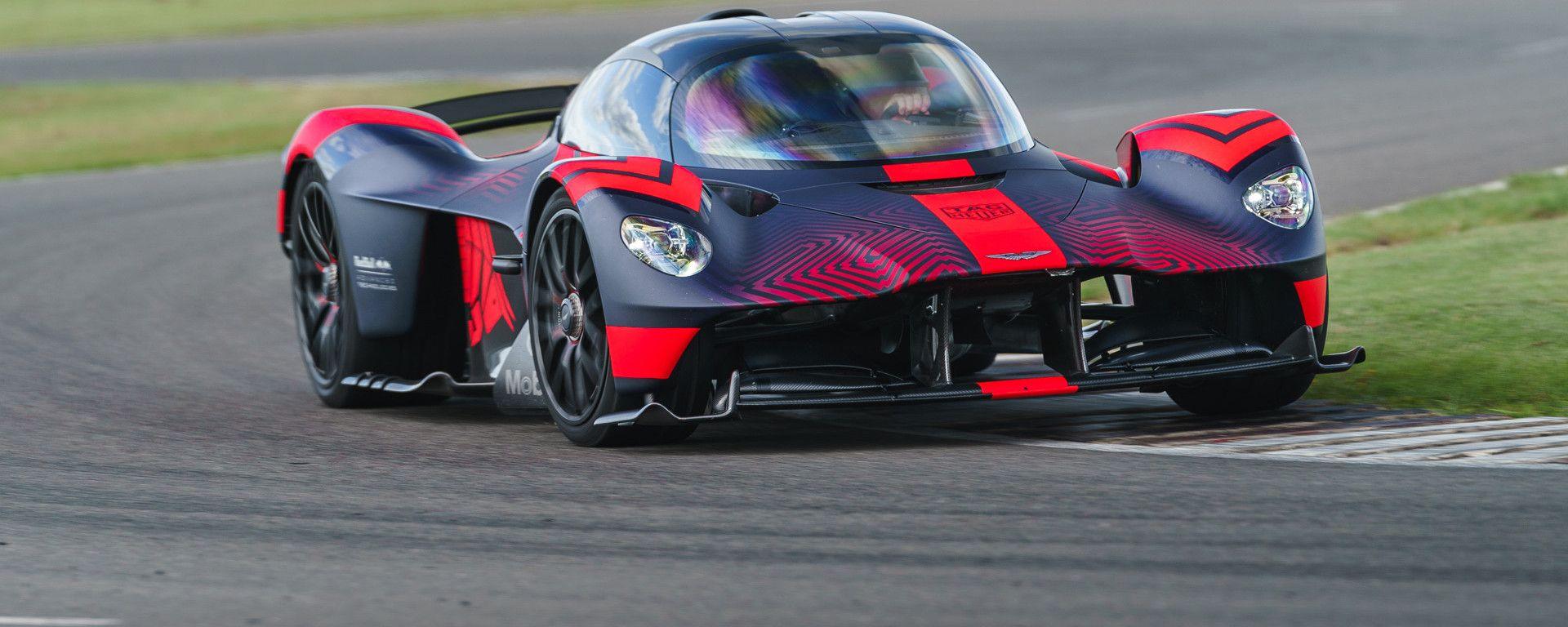 Aston Martin Valkyrie: 1.000 CV da un motore aspirato, ma la T50 la supera per CV/l