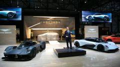 Aston Martin Valkyrie, hypercar da fantascienza. 1.176 cv! - Immagine: 2