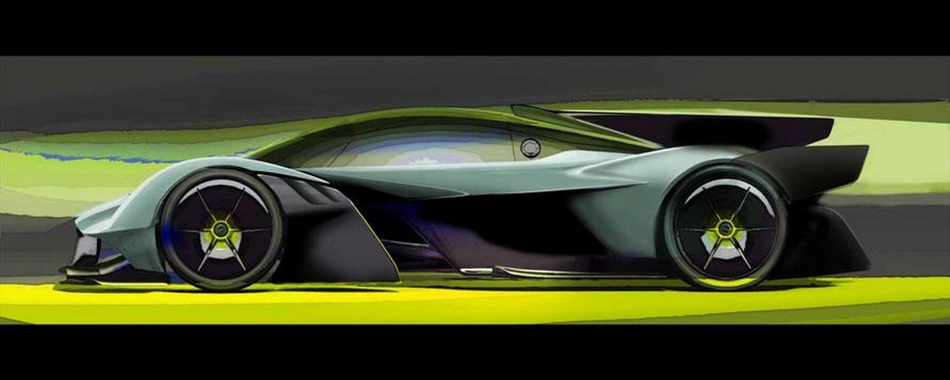 Aston Martin Valkyrie AMR Pro: quella da pista