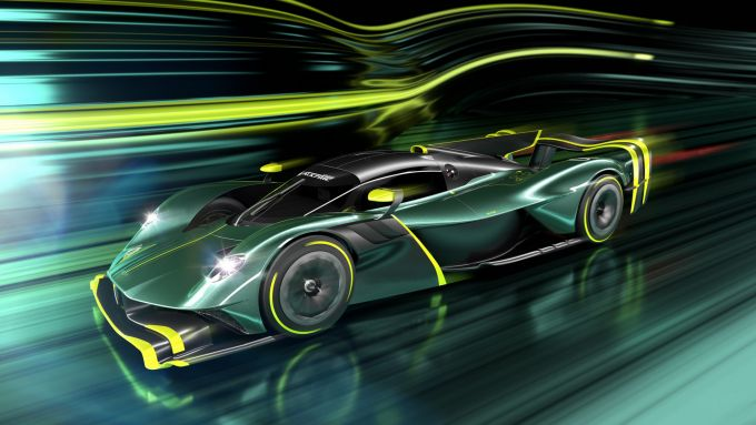 Aston Martin Valkyrie AMR PRO: sarà costruita in 40 esemplari