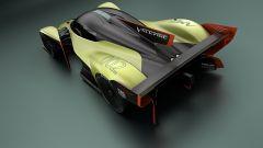 Aston Martin Valkyrie AMR Pro: vista 3/4 posteriore