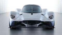 Aston Martin Valkyrie: dettaglio del frontale