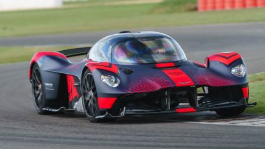 Aston Martin Valkyrie: elettrico what?