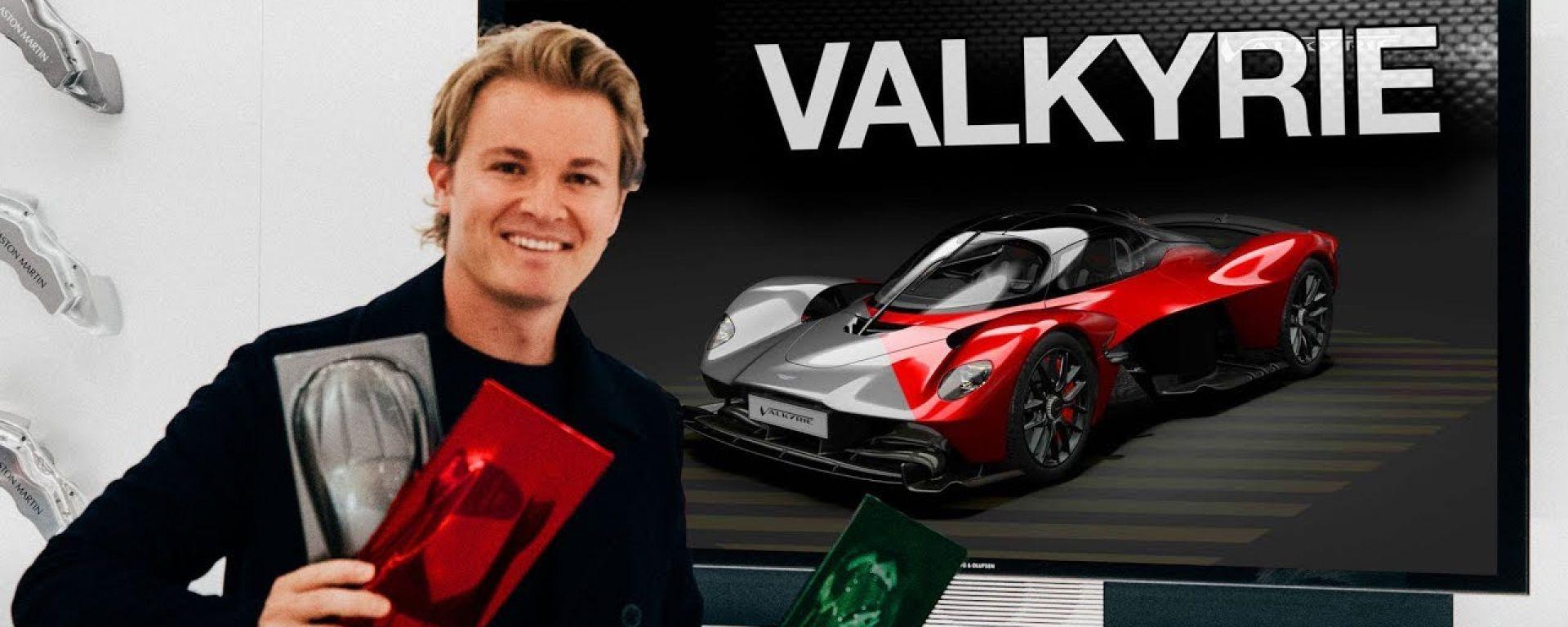 Aston Martin Valkyrie: Nico Rosberga configura la sua preferita