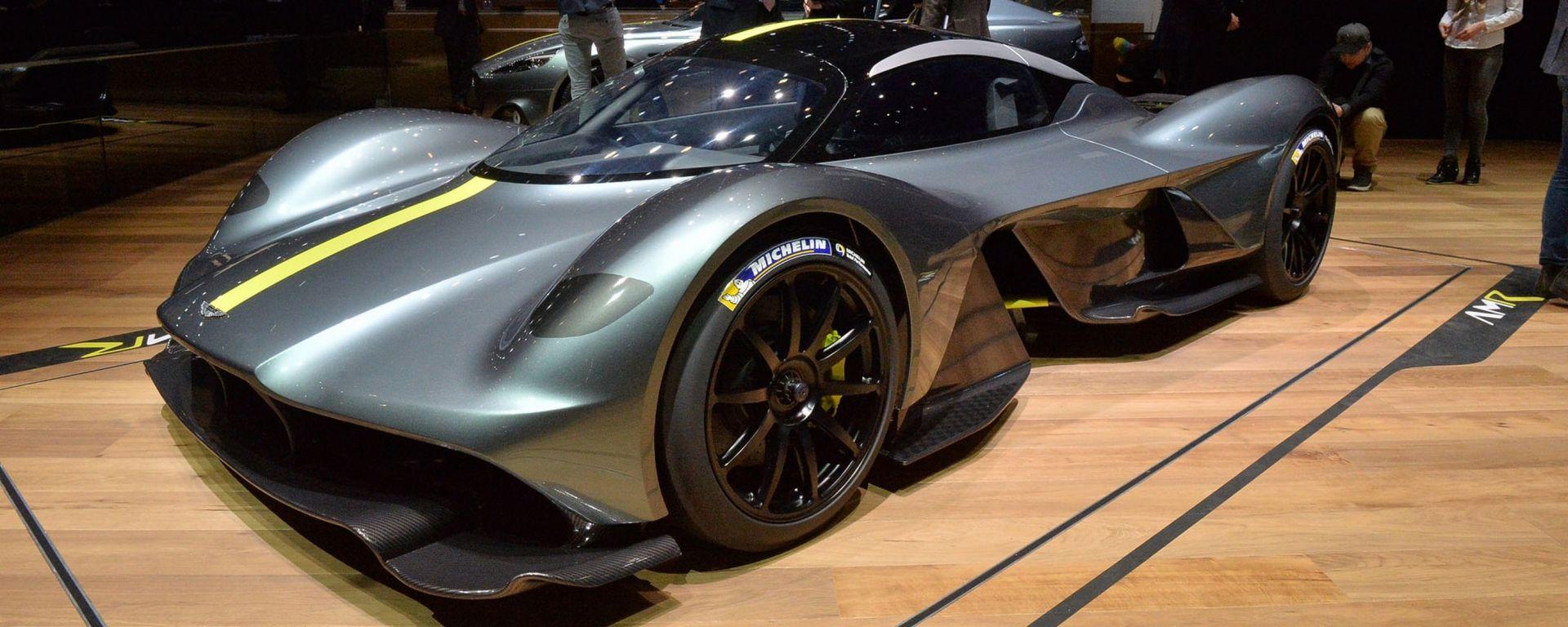 Aston Martin Valkyrie più veloce della Porsche 919 al Ring?