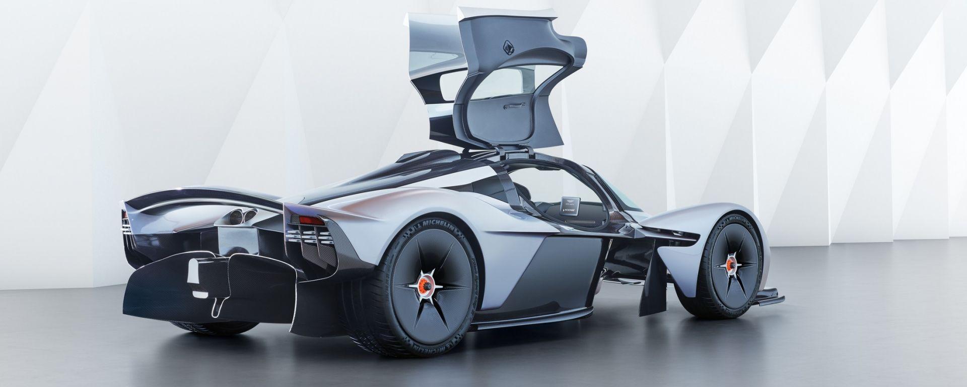 Aston Martin Valkyrie: ecco come suona il V12