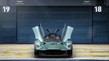 Aston Martin Valkyrie Spider, vista frontale