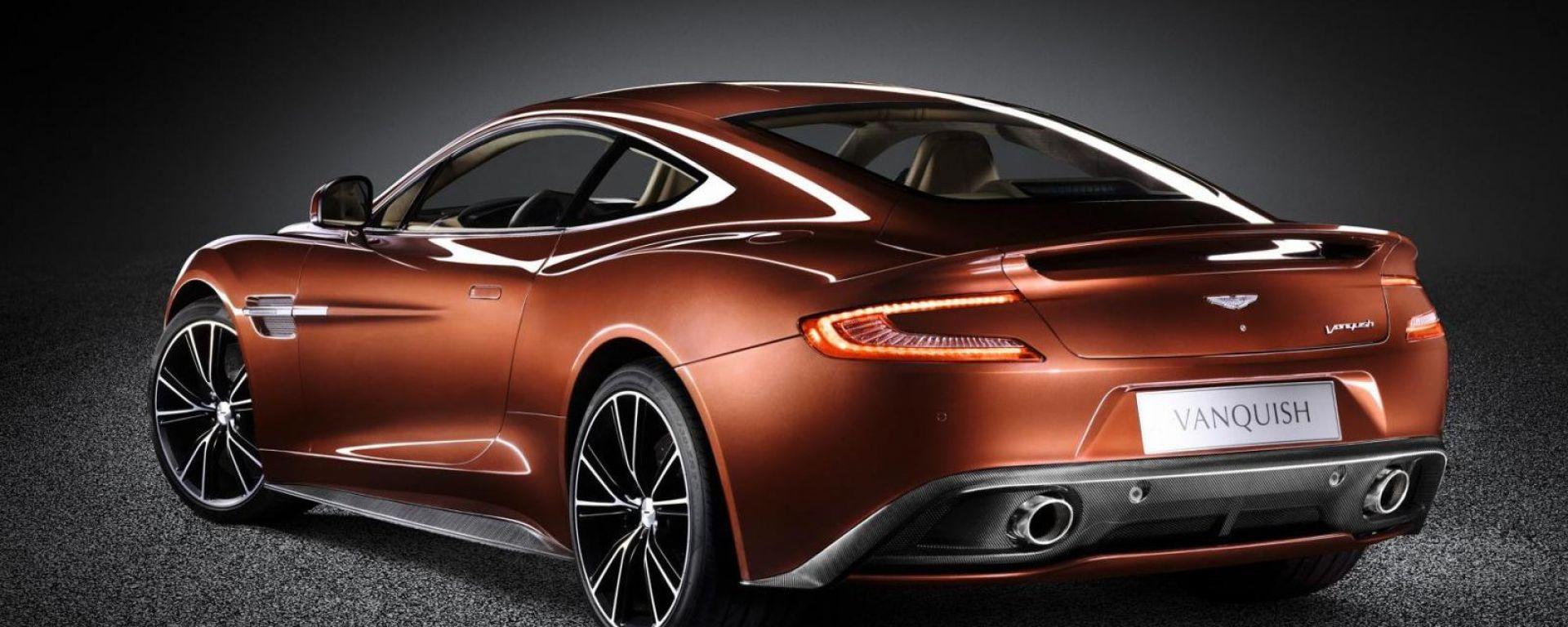 Aston Martin Vanquish 2013: altre foto e video