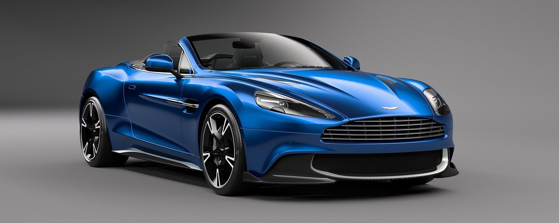 Aston Martin Vanquish S Volante: 323 orari a tetto aperto