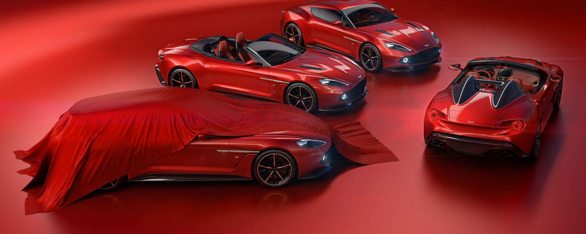 Zagato a Pebble Beach con una Aston Martin Vanquish shooting brake