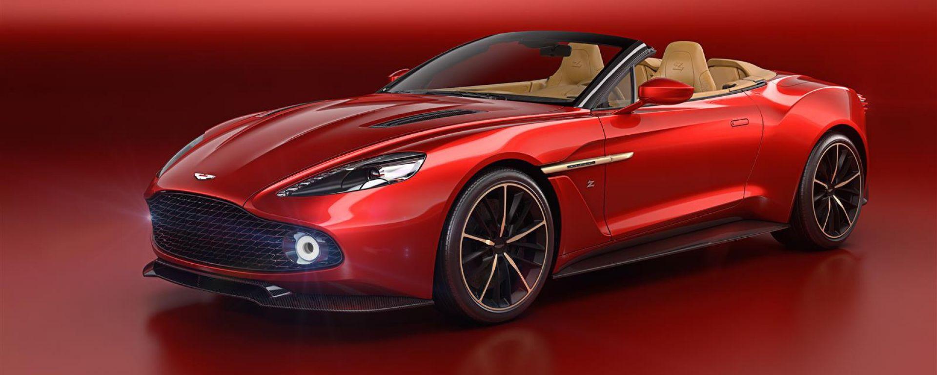 Aston Martin Vanquish Zagato Volante: a Pebble Beach arriva la scoperta