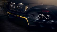 Aston Martin Vantage 007 Edition: il diffusore posteriore giallo