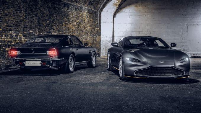 Aston Martin Vantage 997 Edition: con l'originale V8 del 1987