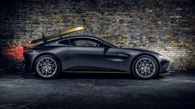Aston Martin Vantage 997 Edition: visuale laterale
