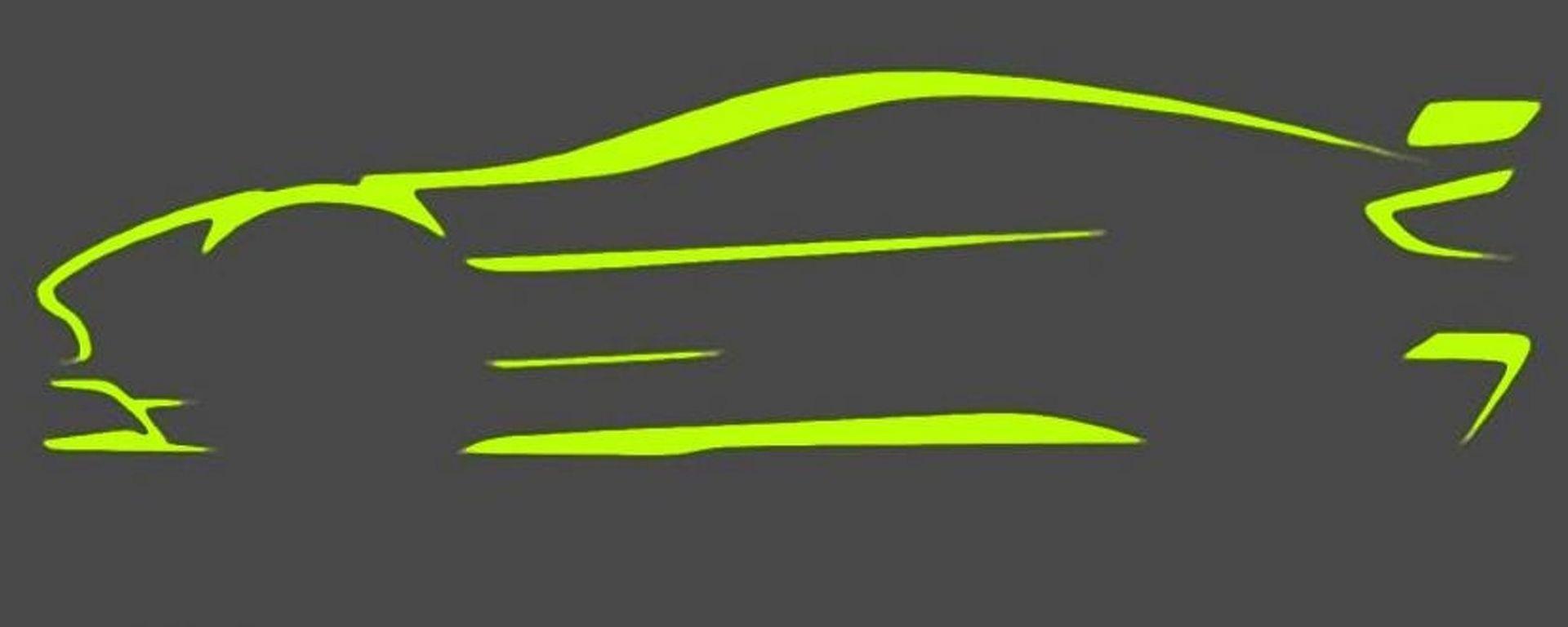Aston Martin Vantage GT8: il teaser