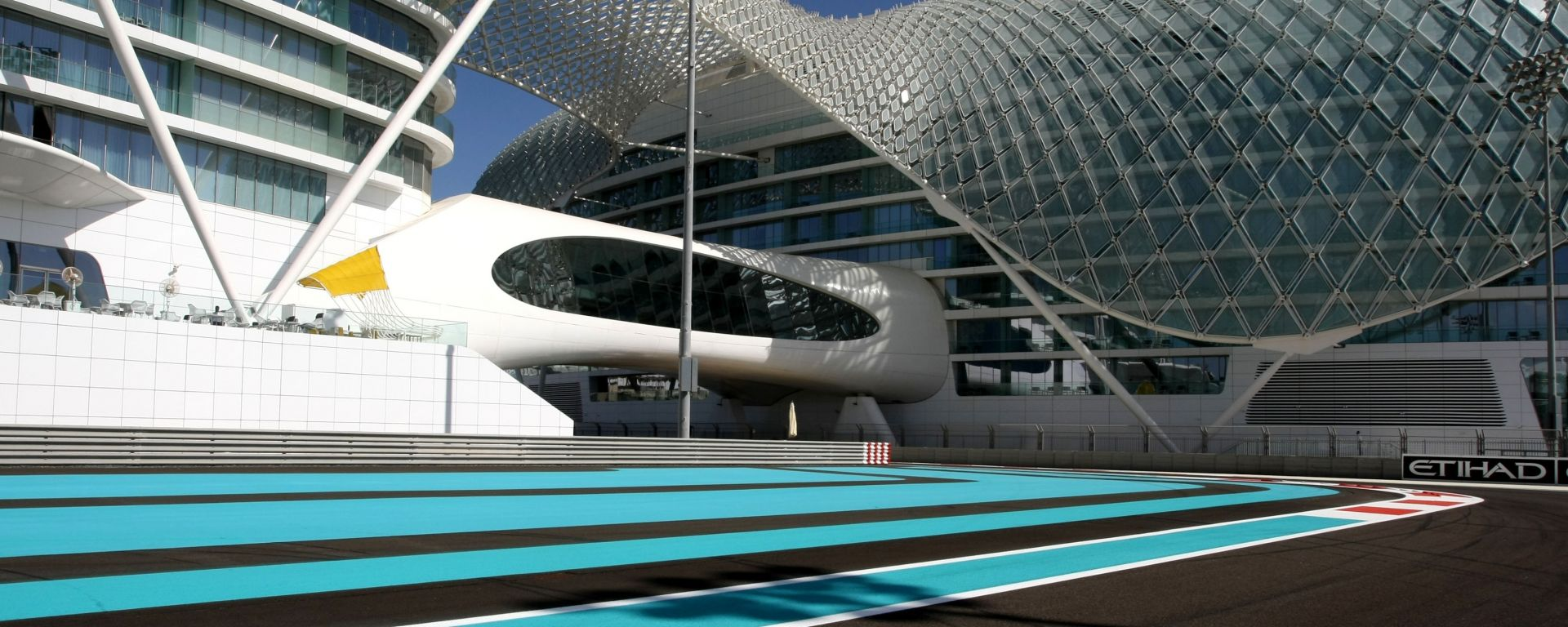 Atmosfera del circuito di Yas Marina, Abu Dhabi
