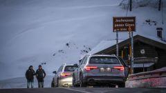 Audi 20quattro ore delle Alpi: al passo Giovo,uno dei 25 passi attraversati durante la gara