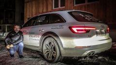 Audi 20quattro ore delle Alpi: al raggruppamento in attesa di imbarcarci sul treno a Briga