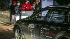 Audi 20quattro ore delle Alpi: all'arrivo della terza tappa a Madonna di Campiglio
