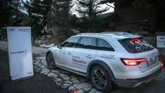 Audi 20quattro ore delle Alpi: la Audi allroad quattro N.3 arriva in perfetto orario a Chamonix, l'unica senza penalità. Da qui