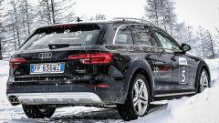 Audi 20quattro ore delle Alpi: la nuova A4 Allroad di 3/4 posteriore