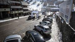 Audi 20quattro ore delle Alpi: le 5 Audi A4 allroad quattro sono pronte a partire. Le attende un lungo viaggio
