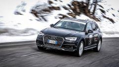 Audi 20quattro ore delle Alpi: si parte sereni sapendo di poter contare sulla trazione integrale quattro della A4 allroad