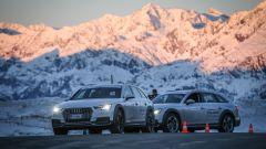 Audi 20quattro ore delle Alpi:inizia la quarta tappa verso il traguardo di San Cassiano alle prime luci dell'alba