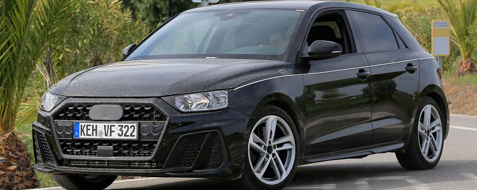 Audi A1 2018: le prime foto a nudo