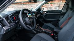 Audi A1 cirycarver 35 TFSI: dettaglio degli interni