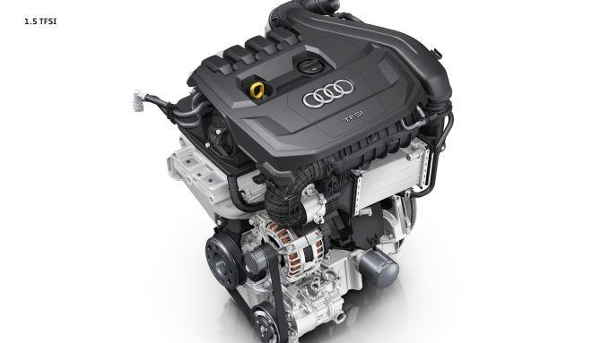 Audi A1 citycarver 35 TSFI: il motore