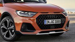 Audi A1 Citycarver, il frontale