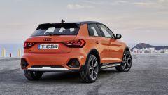Audi A1 Citycarver, il posteriore