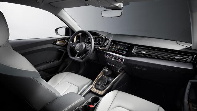 Audi A1, gli interni