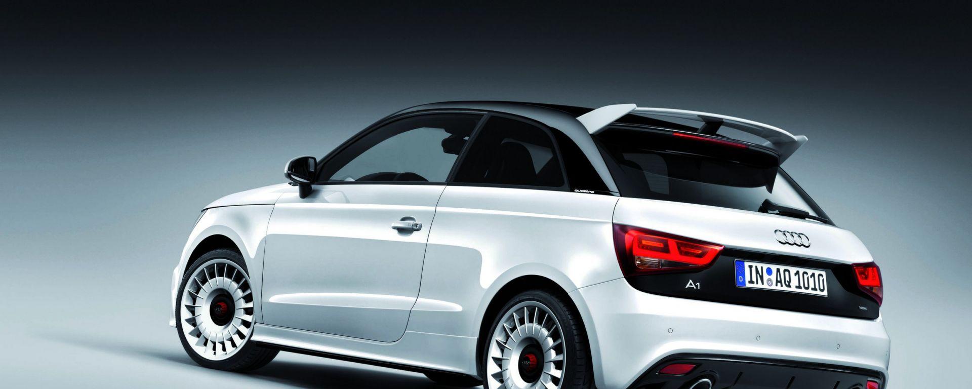 Audi A1 quattro: ora anche in video