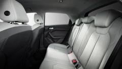 Audi A1 Sportback 2019, il divano posteriore