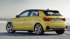 Audi A1 Sportback 2019, la fiancata